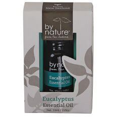 By Nature Eucalyptus Essential Oil 10ml