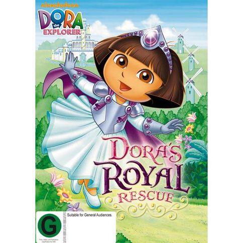 Dora The Explorer Royal Rescue DVD 1Disc