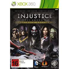 Xbox360 Injustice Gods Among Us Ultimate Ed