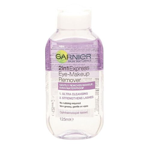 Garnier Express 2-in-1 Eye Make-Up Remover 125ml