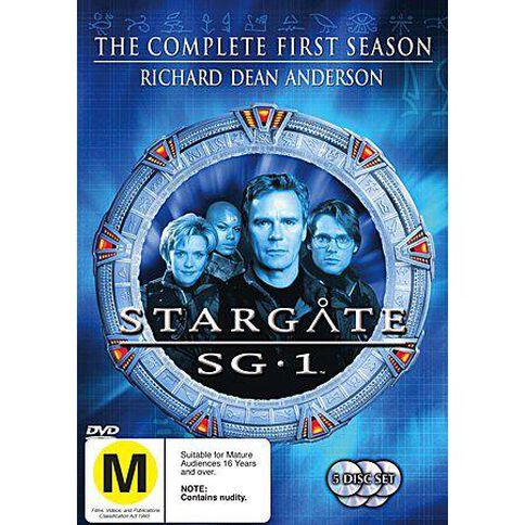 Stargate SG1 Season 1 DVD 5Disc