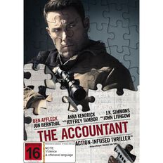 The Accountant DVD 1Disc