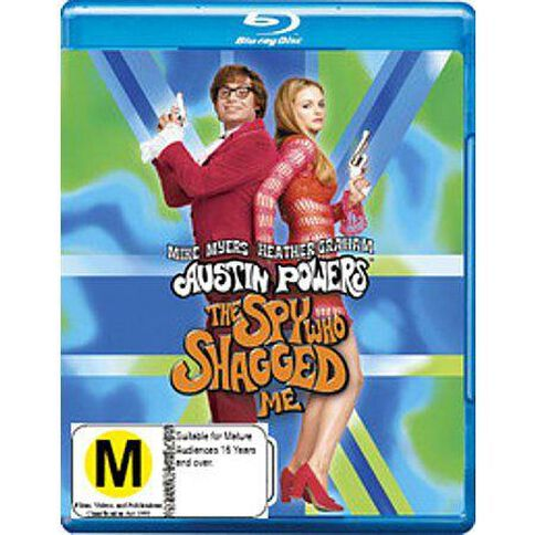 Austin Powers Spy Who Shagged Me (Blu-ray)