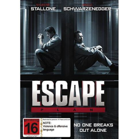 Escape Plan DVD 1Disc
