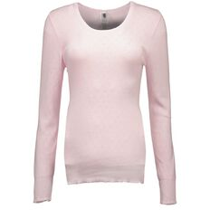H&H Women's Thermal Pointelle Long Sleeve Top