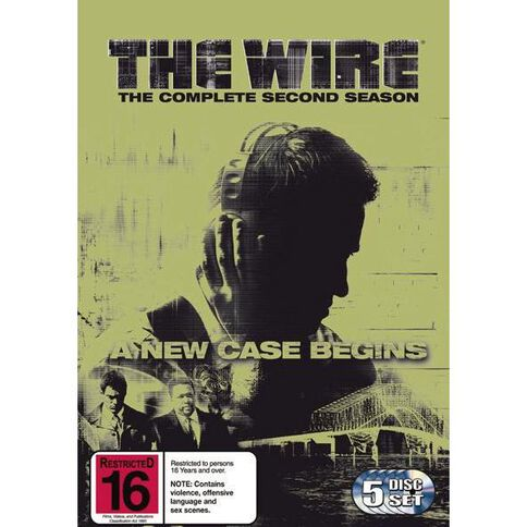 The Wire Season 2 DVD 5Disc