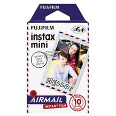 Fujifilm Instax Mini Airmail Film 10 Pack