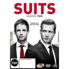 Suits Season 2 DVD 4Disc
