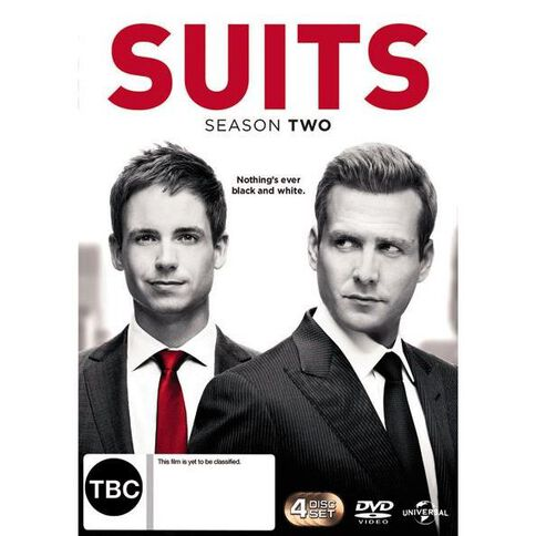 Suits Season 2 DVD 4Disc