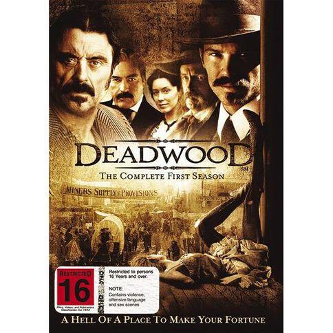 Deadwood Season 1 DVD 4Disc