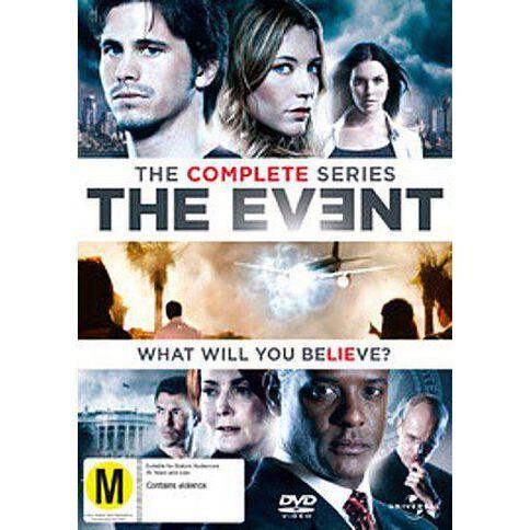 The Event Season 1 DVD 6Disc