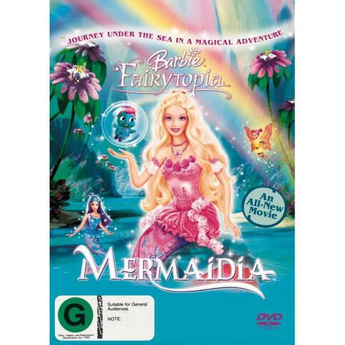 Barbie Mermaidia DVD 1Disc