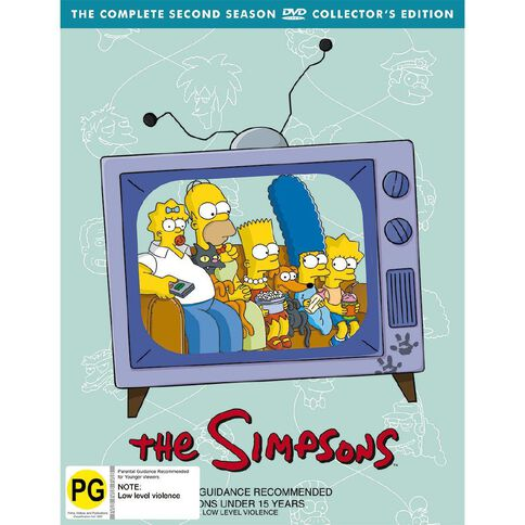 The Simpsons Season 2 DVD 4Disc