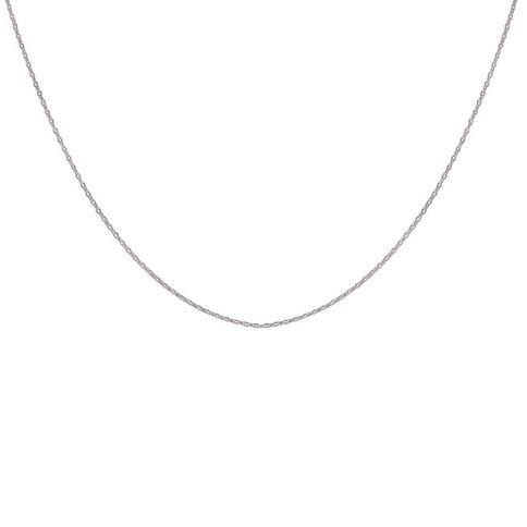 Sterling Silver Rolo Chain 45cm