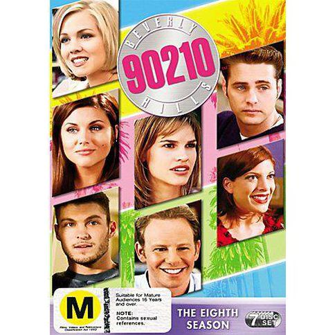 Beverly Hills 90210 Seaosn 8 DVD 8Disc
