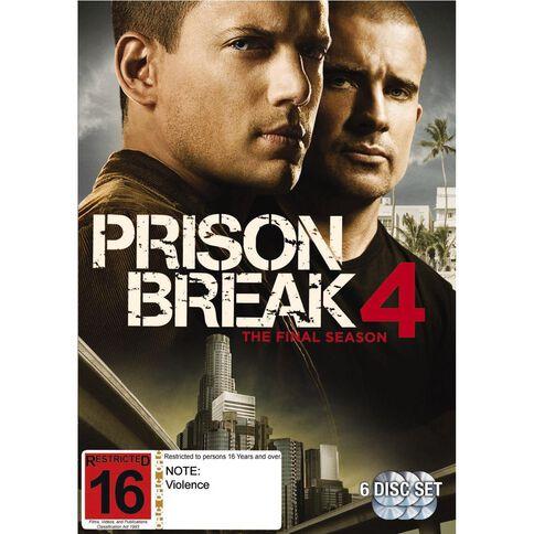 Prison Break Season 4 DVD 6Disc