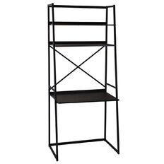 Living & Co Portland A-Frame Ladder Desk with Shelves