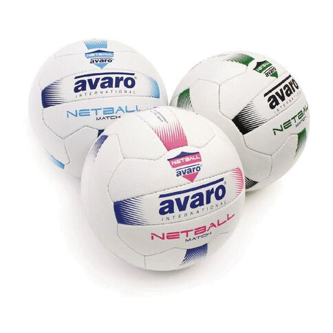 Avaro Synthetic Leather Netball Assorted