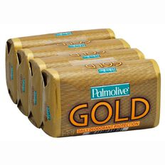Palmolive Gold Bar Soap 4 pack