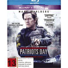 Patriots Day Blu-ray 1Disc