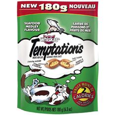 Whiskas Temptations Seafood 180g