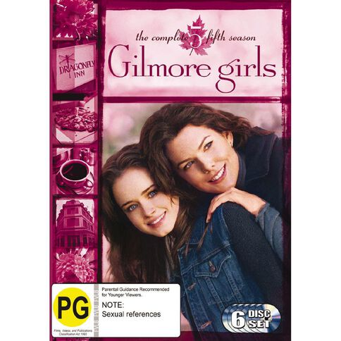Gilmore Girls Season 5 DVD 6Disc