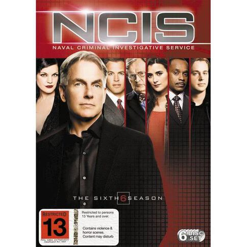 NCIS Season 6 DVD 6Disc