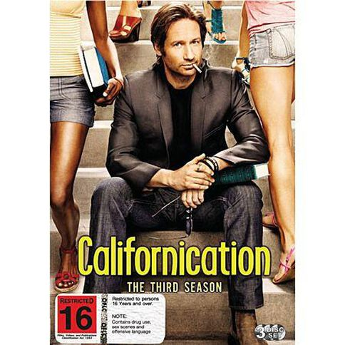 Californication Season 3 DVD 3Discs