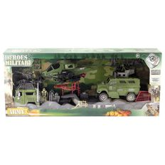 Military Heroes Army Set 9 Pieces
