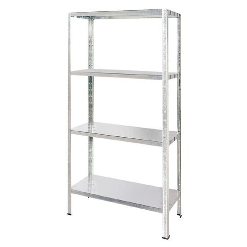 Samson Galvanised Steel Shelving Unit 4 Tier