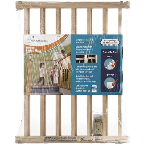 Dreambaby Timber Swing Safety Gate