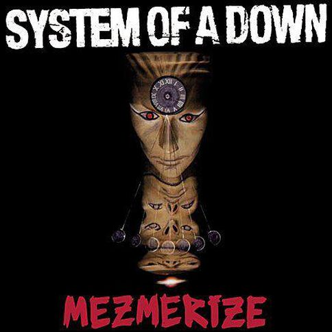 Mezmerize by System Of A Down CD