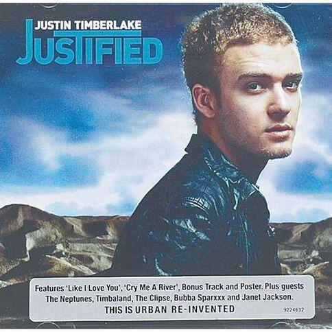 CD Timberlake Justin Justified