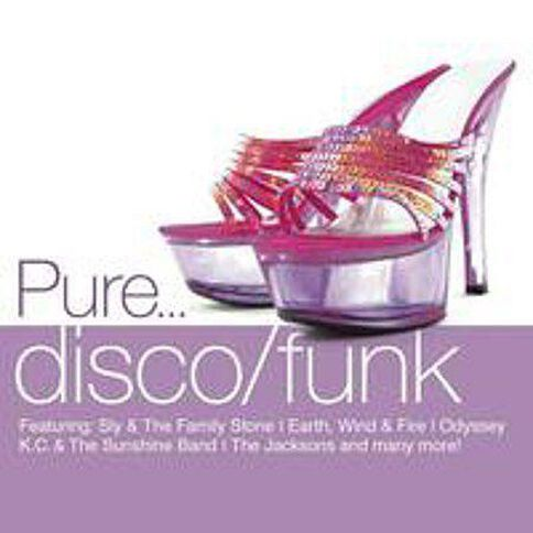 Pure Disco / Funk CD by Various Artists 4Disc