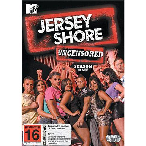 Jersey Shore Series 1 DVD 3Discs