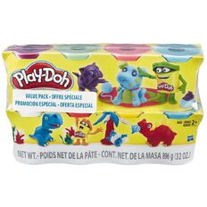 Play-Doh 4oz Cans Plus Bonus 4 Pack