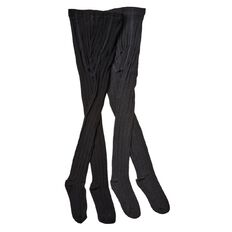 H&H Girls' Cable Tights 2 Packs
