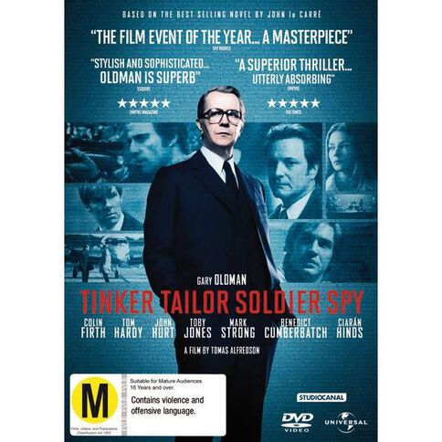 Tinker Tailor Soldier Spy DVD 1Disc