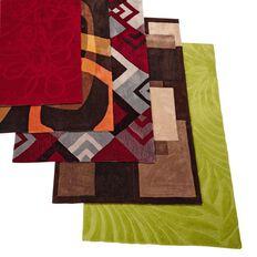 Rug Pinacle Tribal Red/Grey 100cm x 160cm