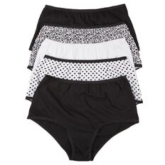 H&H Women's Full Briefs 5 Pack