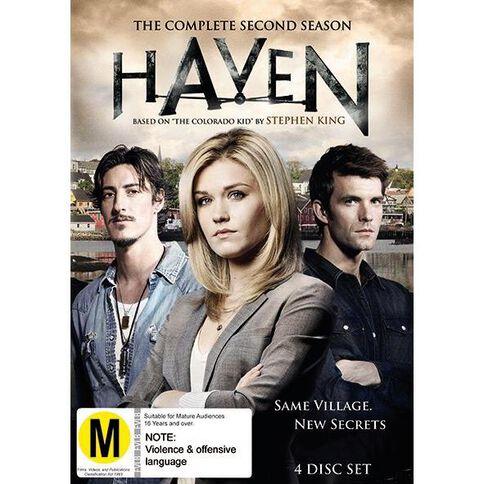 Haven Season 2 DVD 4Disc