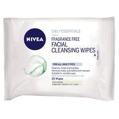Nivea Visage Fragrance Free Wipes 25 Pack