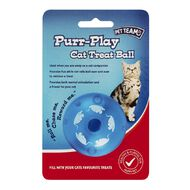 Pet Team purr-play cat treat ball