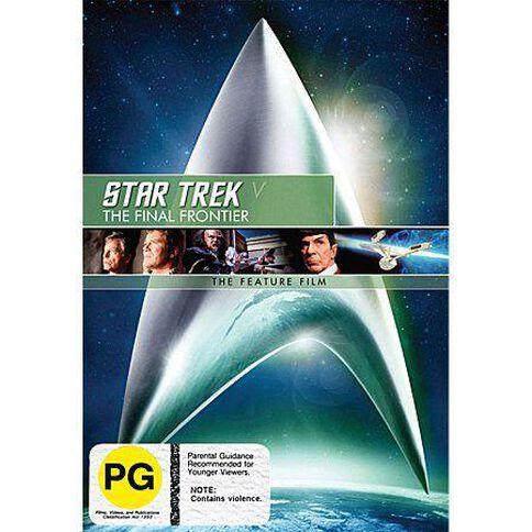 Star Trek 5 Final Frontier DVD 1Disc