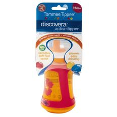 Tommee Tippee Discovera Active Tipper 12mths+ 350ml Assorted Colours