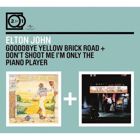 2 for 1 Goodbye Yellow Brick Rd/Dont Shoot Me CD by Elton John 2Disc