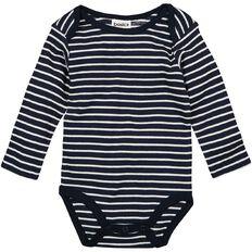 Basics Brand Baby Unisex Long Sleeve Stripe Bodysuit