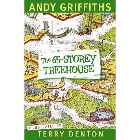65 Storey Treehouse by Andy Griffiths & Terry Denton