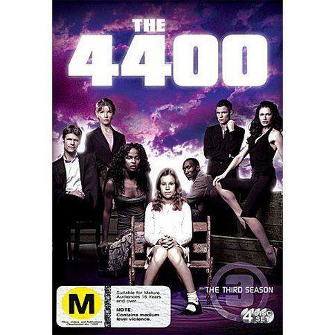 The 4400 Season 3 DVD 4Discs