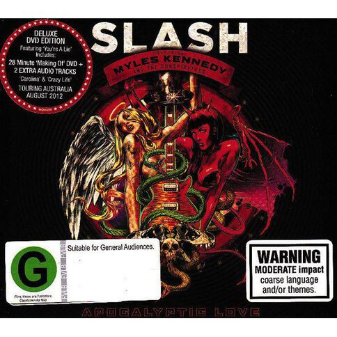 Apocalyptic Love. CD/DVD by Slash 2Disc